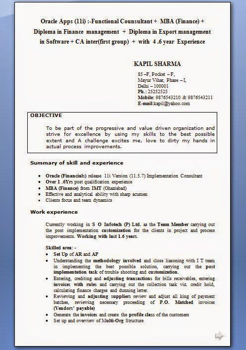 Good Example Of A Cv Download Free Excellent Cv Resume