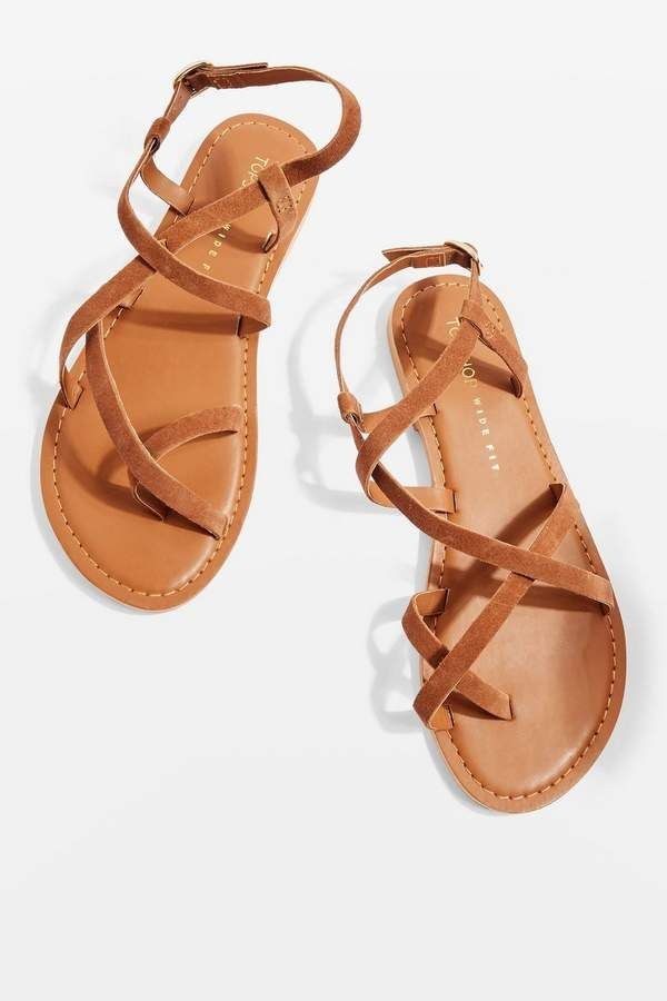 1eedea4f629bcd WIDE FIT HICCUP Strappy Sandals - Flats - Shoes