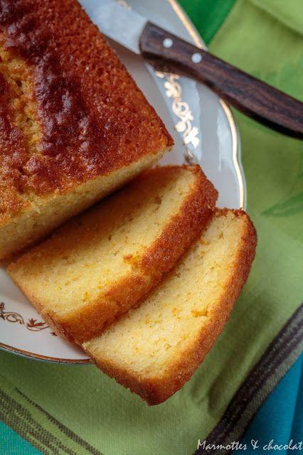 Marmottes et Chocolat: Портокалов кейк със зехтин / Cake à l'orange et huile d'olive