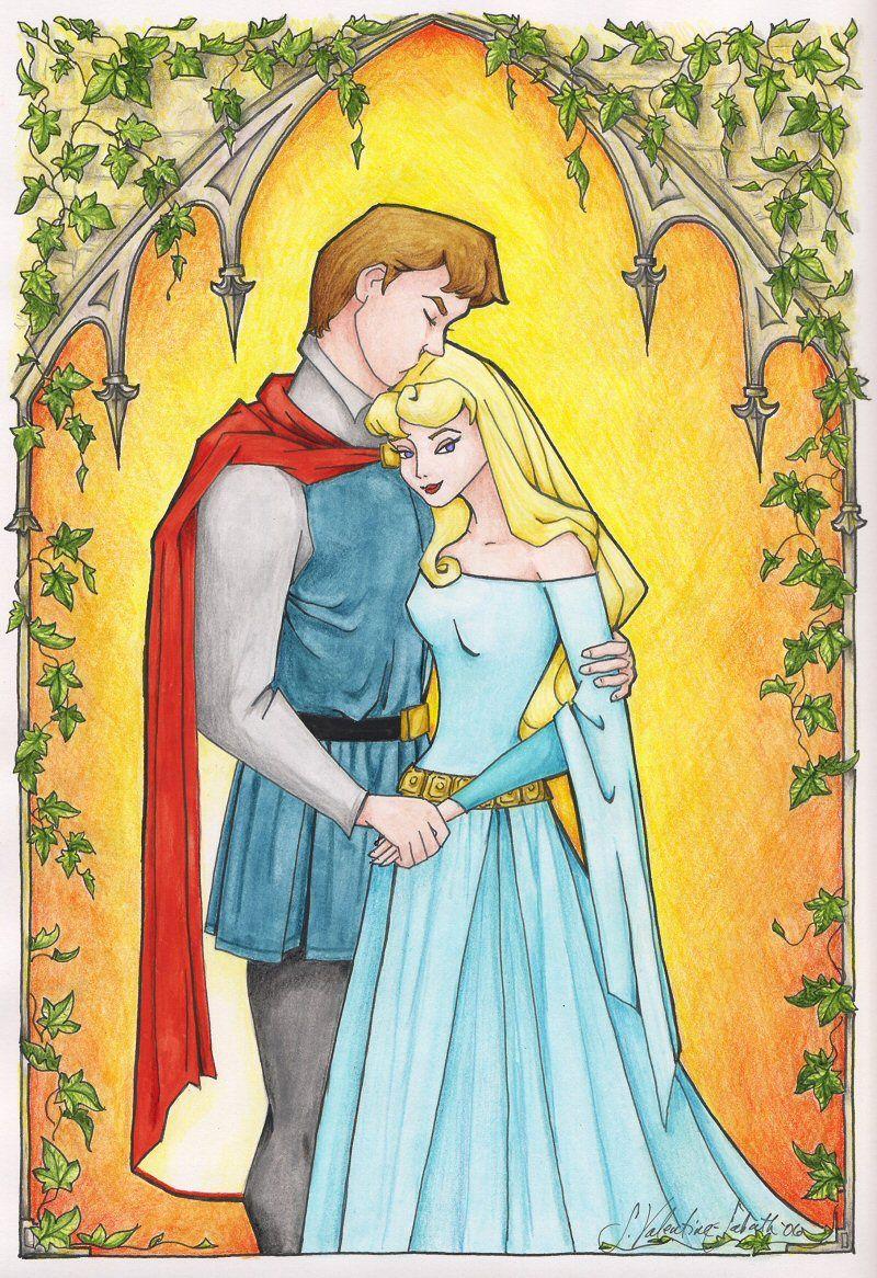 Prinz fickt Maleficent und Prinzessin Aurora