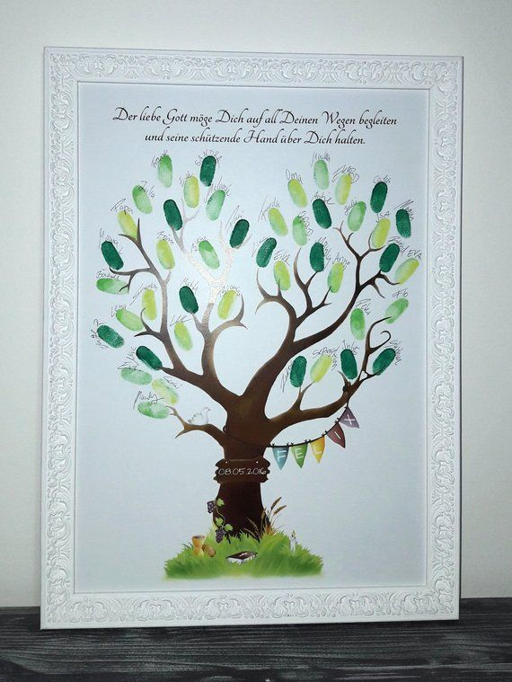 Fingerprint tree communion, Communion Guestbook, communion gift, Communion fingerprint #greatnames