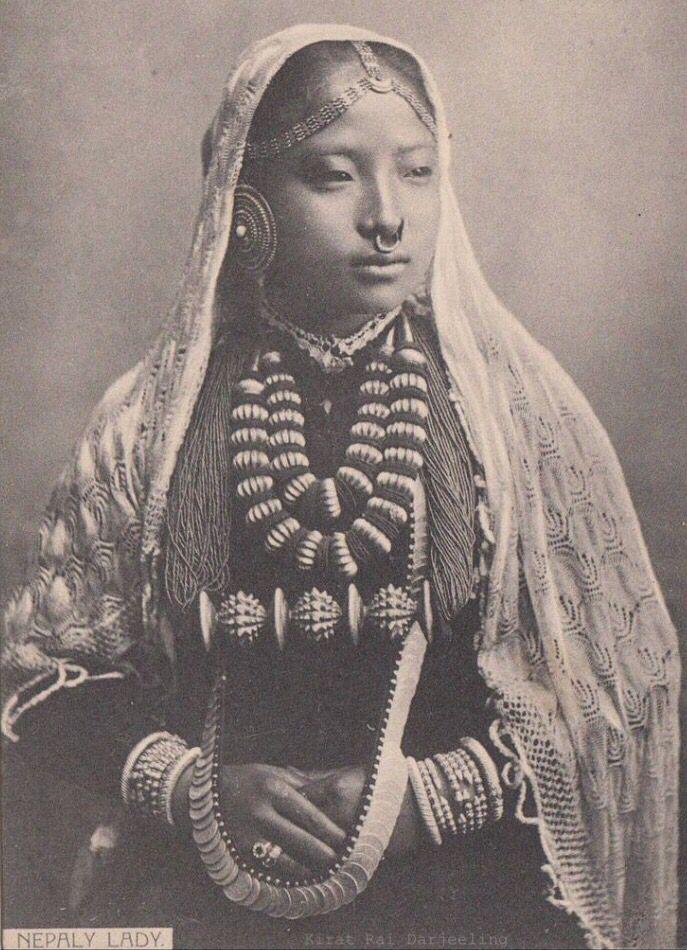 Kirat Rai Beauty Around The World Vintage Beauty Lady