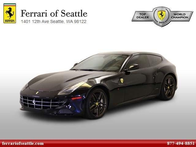 Used 2014 Ferrari FF Base Drivetype:AWD Front Ventilated disc brakes Fuel Consumption: City: 11 mpgFuel Consumption: Highway: 16 mpg Headlight cleaners with washer Heated driver mirror Heated passenger mirrorIn-Dash single CD playerInterior air filtration Leather seat upholstery Leather/aluminum center console trim Leather/aluminum steering wheel trim Manufacturer's 0-60mph acceleration time (seconds): 3.5 s Memorized Settings for 3 drivers Memorized Settings including door mirror(s) MP3…