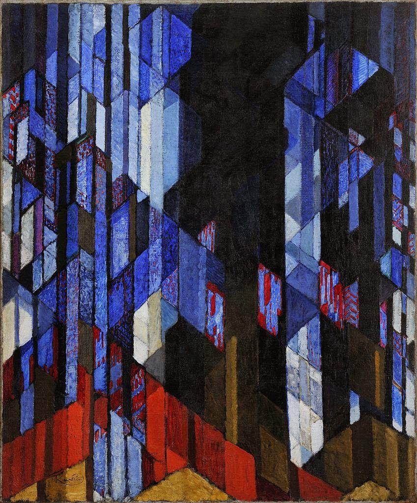 """""""Catedral"""" - Frantisek Kupka - pintor checo (1871-1957)"""