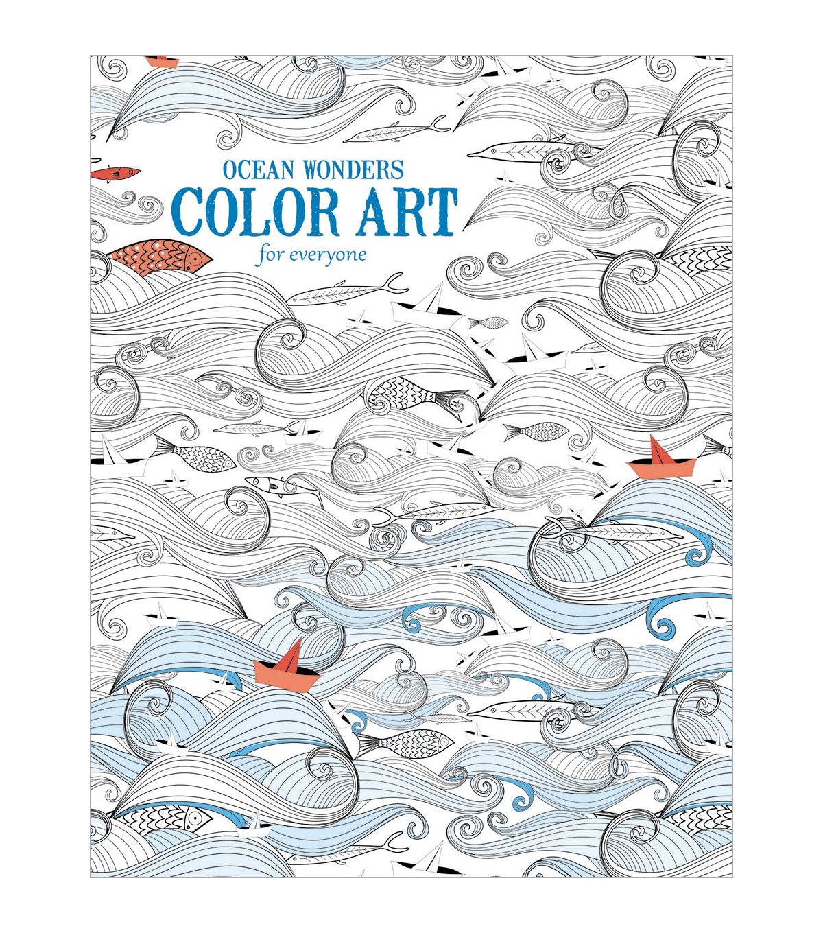 Ocean Wonders Adult Coloring Biooks | Top Products: Can\'t Live ...