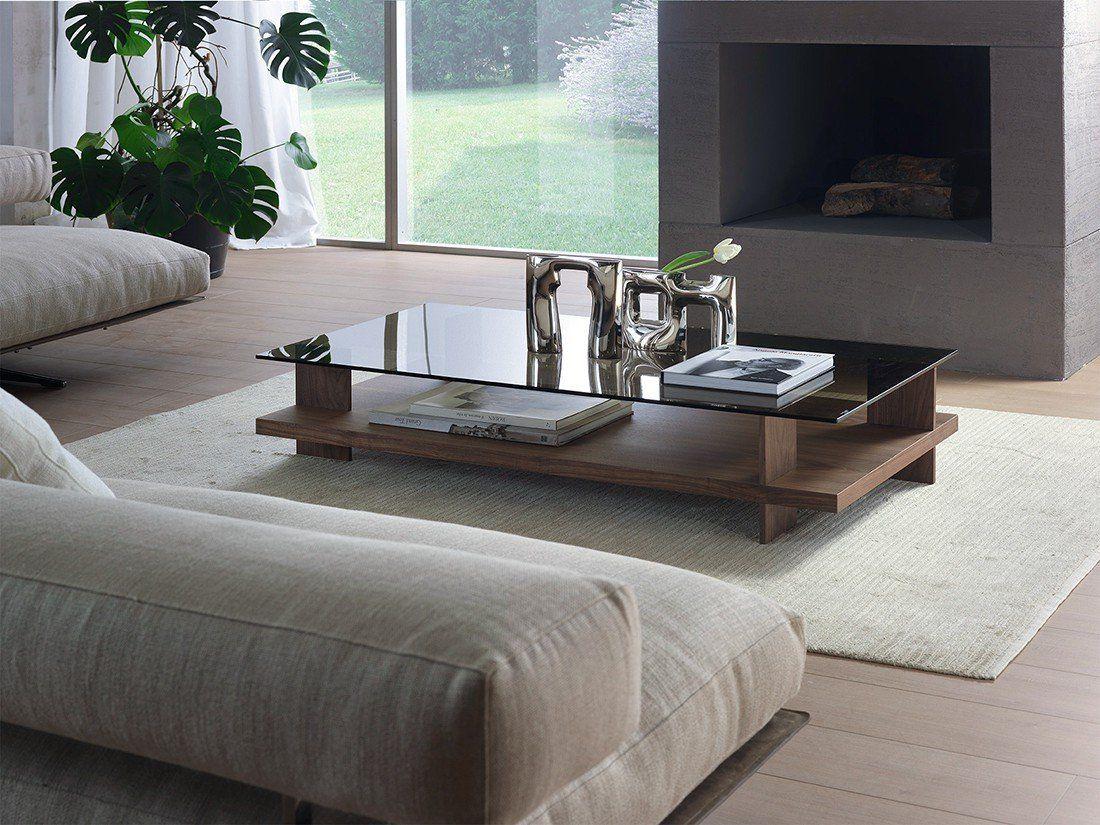 Pacini Cappellini Corallo Coffee Table Wooden Living Room Furniture Ultra Modern Walnut Coffee Table Coffee Table Vintage Coffee Table [ 825 x 1100 Pixel ]
