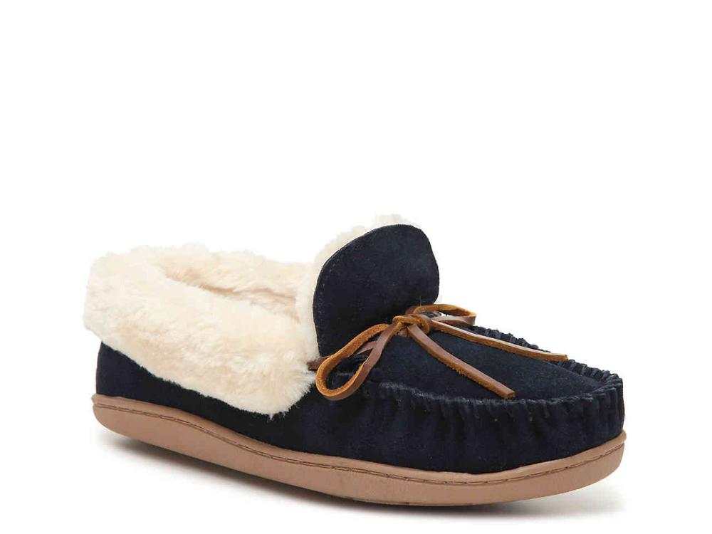 Minnetonka Tracy Moccasin Slipper Women's Shoes | DSW