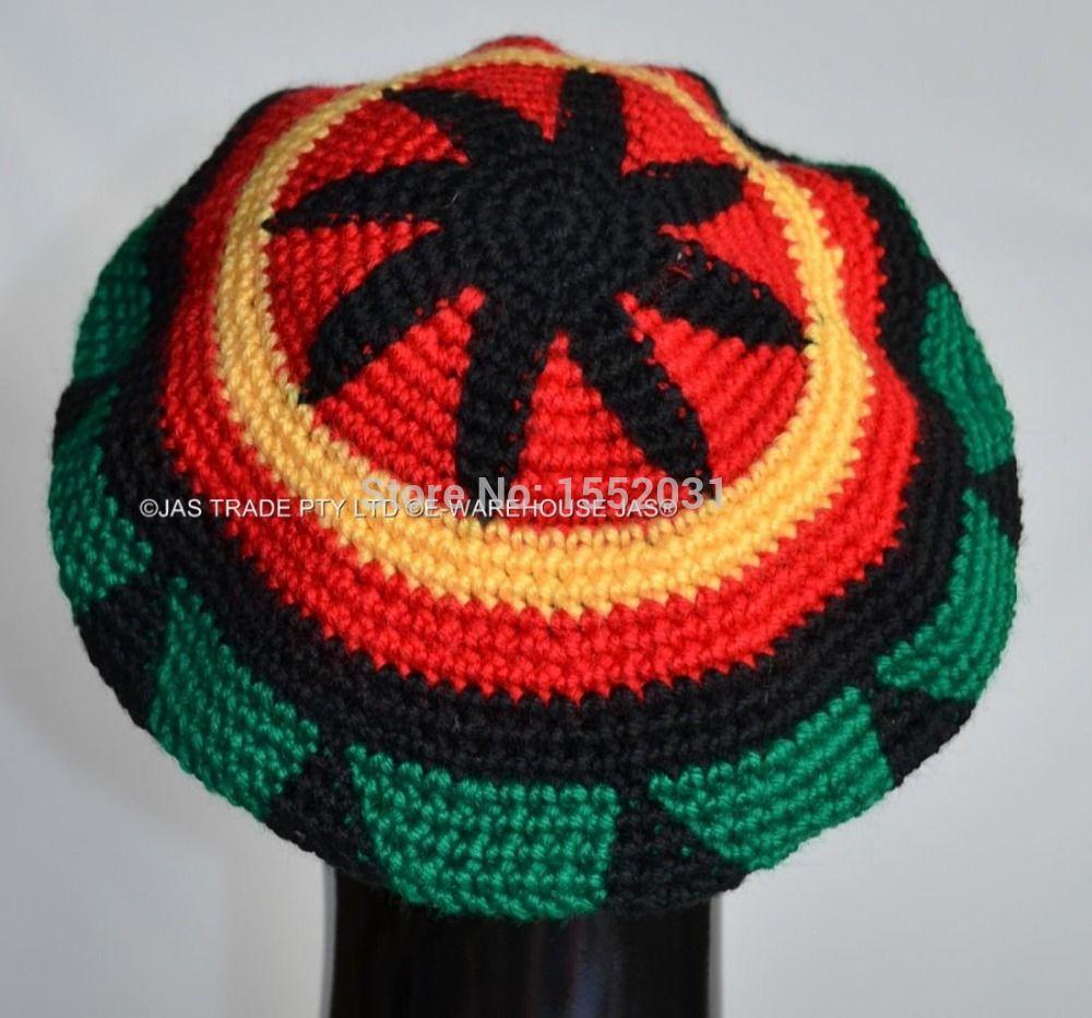 Cheap Envío gratis DHL artesanales jamaicano de Rasta sombrero ...