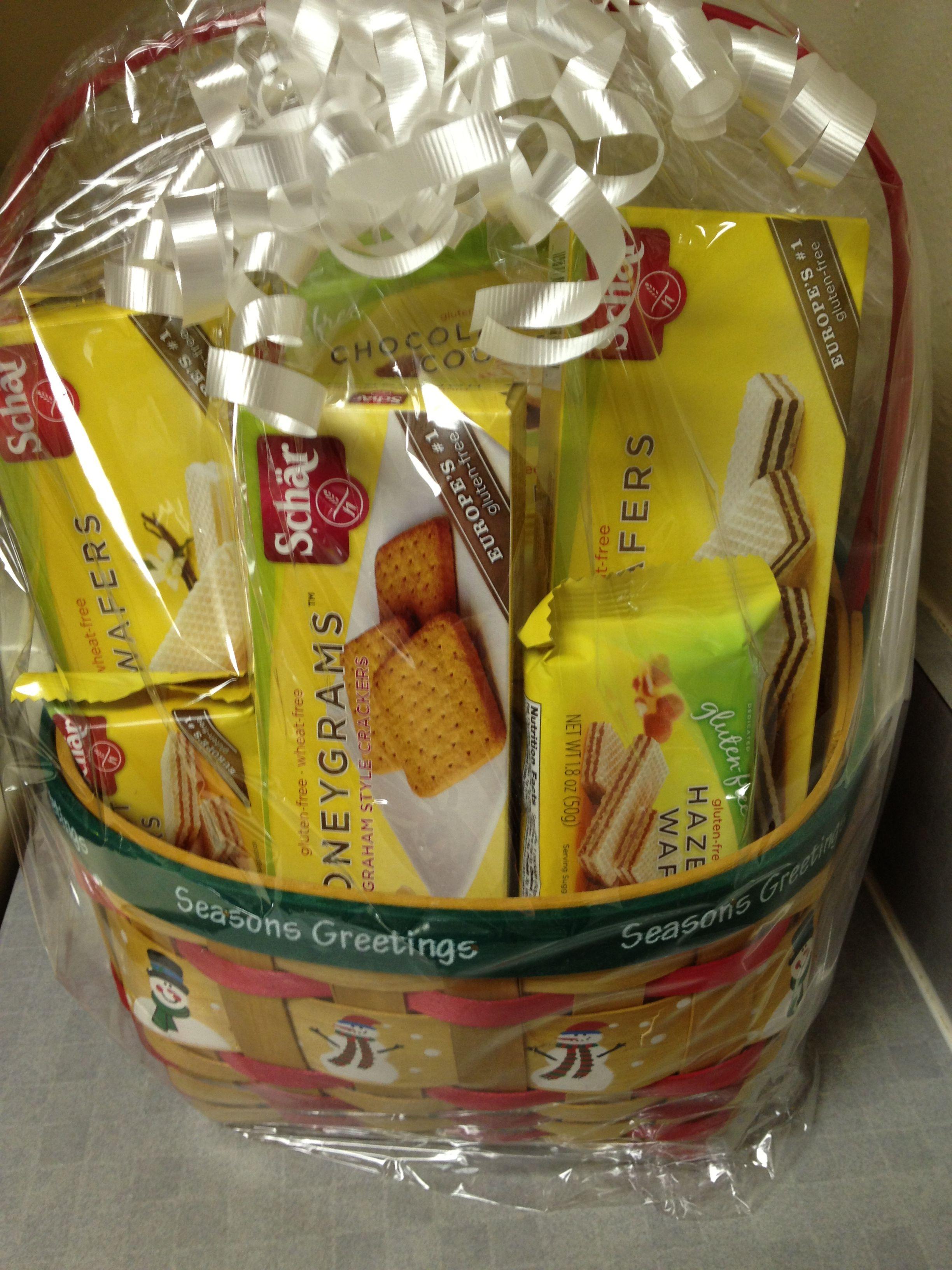 Gift basket from schar httpscharus shar gluten free gift basket from schar httpscharus negle Gallery