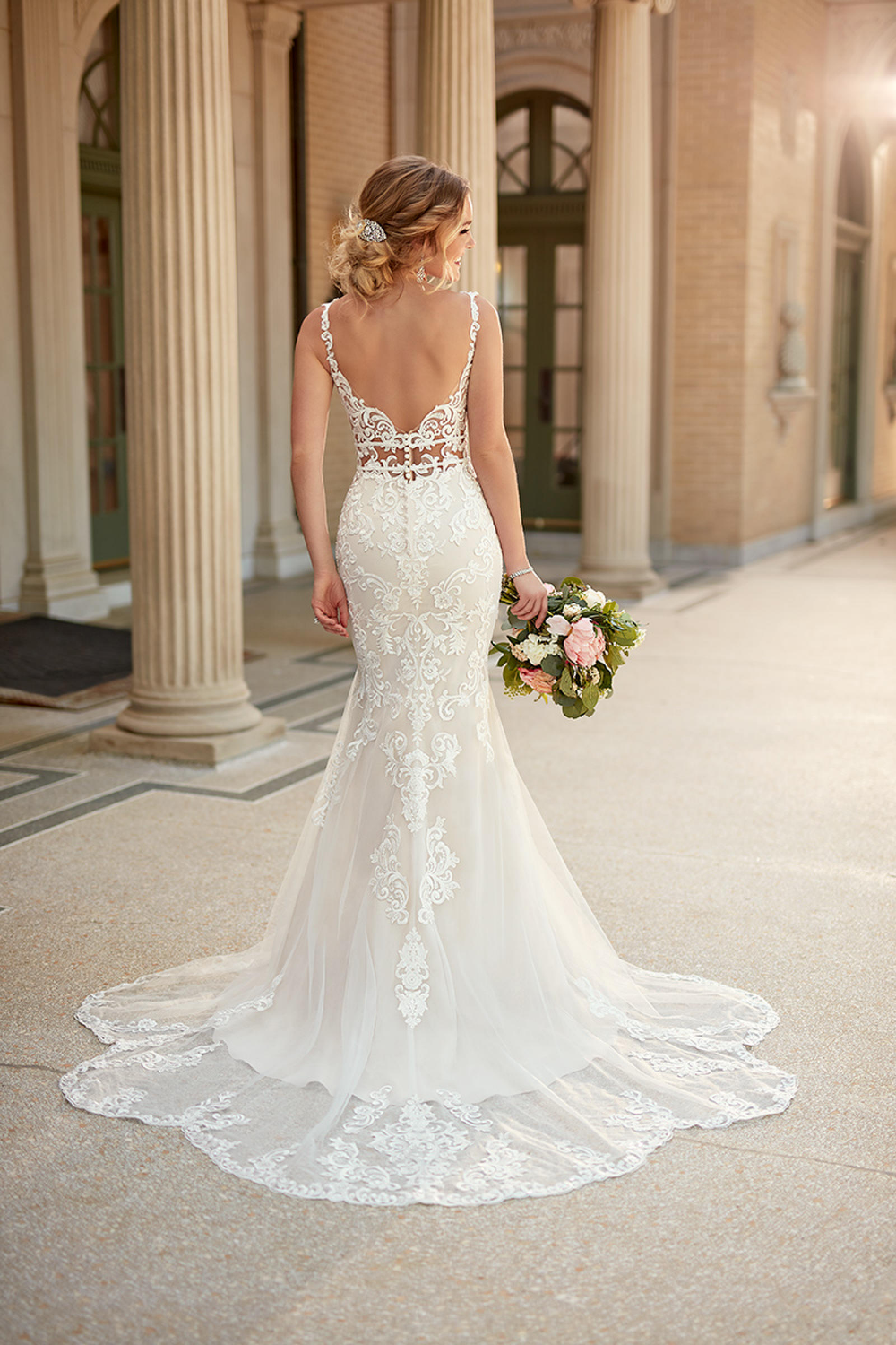 Stella York Bridal 6914 Ella Park Bridal Chic Bridal Dress Backless Mermaid Wedding Dresses York Wedding Dress