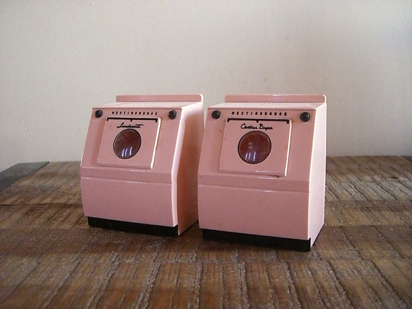 Washer And Dryer Vintage Pink Washer And Dryer Salt And Pepper Shaker