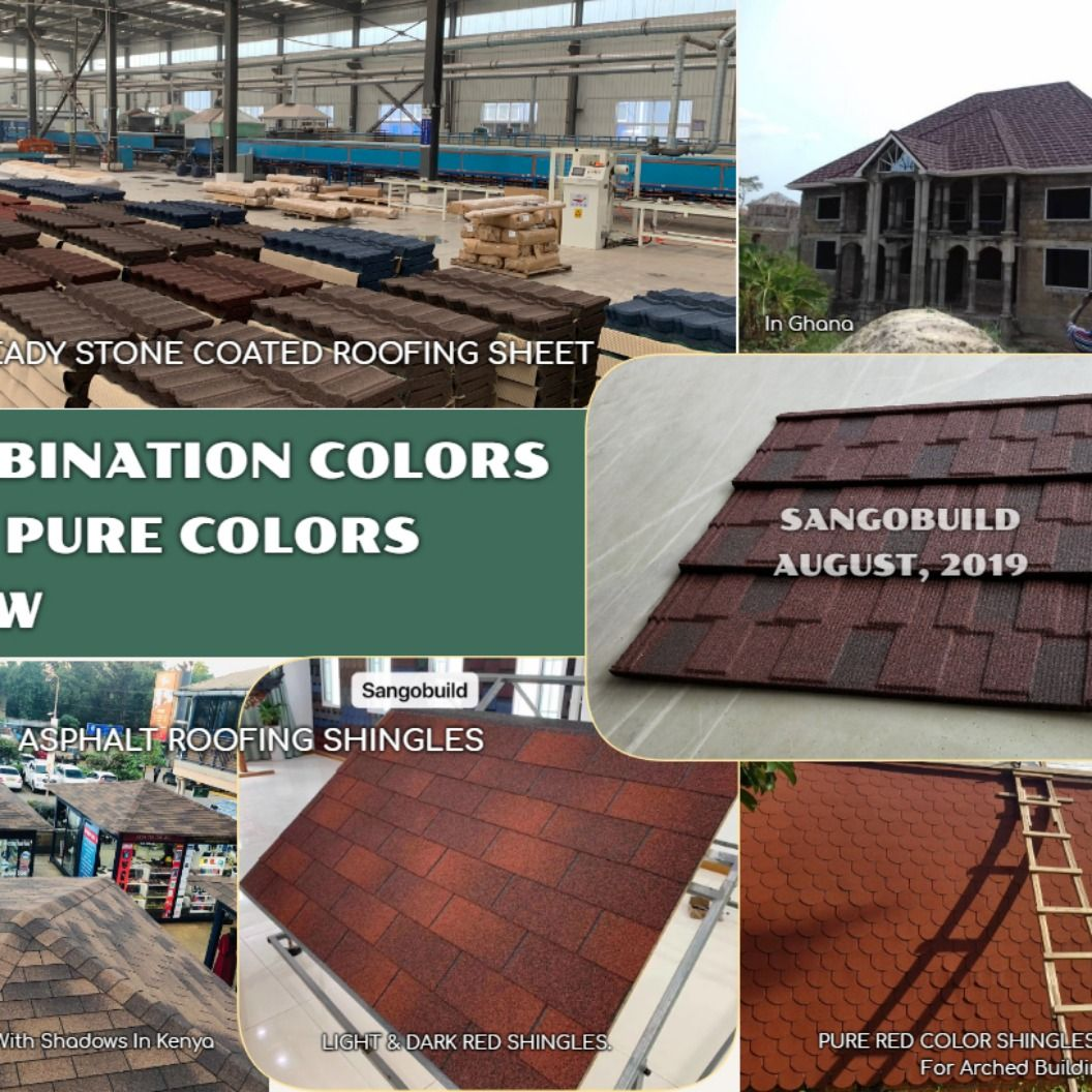 Sangobuild Roofing Materials Roofing Roofing Sheets Shingling