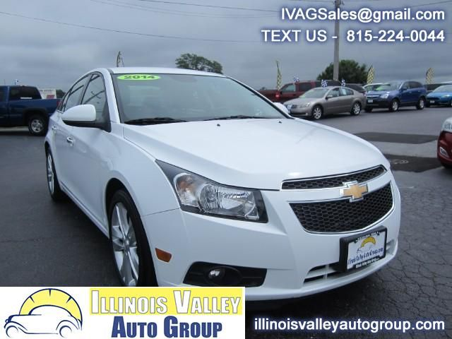 Used 2014 Chevrolet Cruze Ltz Auto For Sale In Peru Il 61354