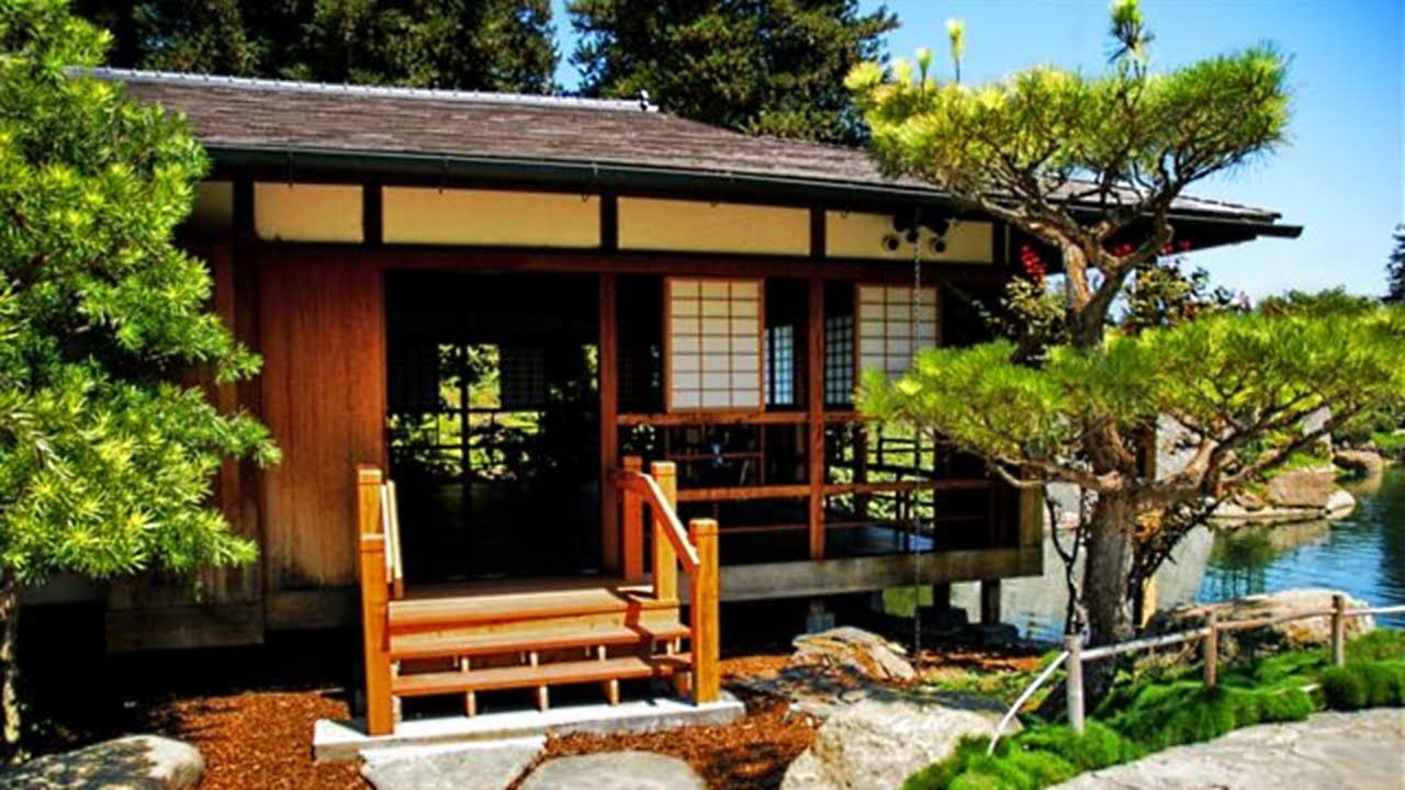 Traditional Japanese House Garden Japan Interior Design Youtube Traditional Japanese House Japanese Style House Japanese House