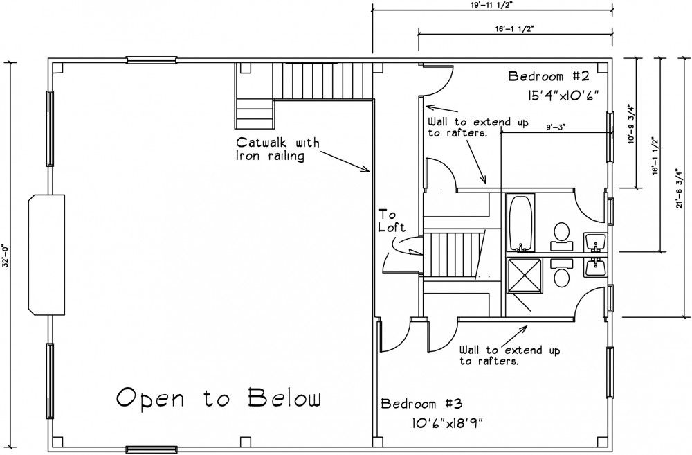 Barn house second story plans barn homes pinterest for 2 story barn plans
