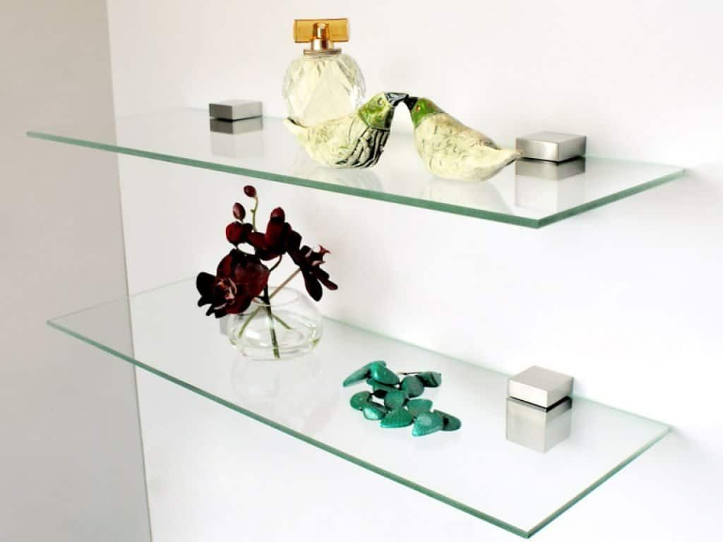 The Benefits Using Wall Glass Shelves Floating Glass Shelves