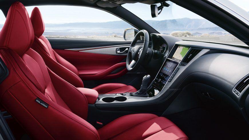 2019 Infiniti Q60 Coupe Interior Details Coupe Red Interior Car Infiniti Usa