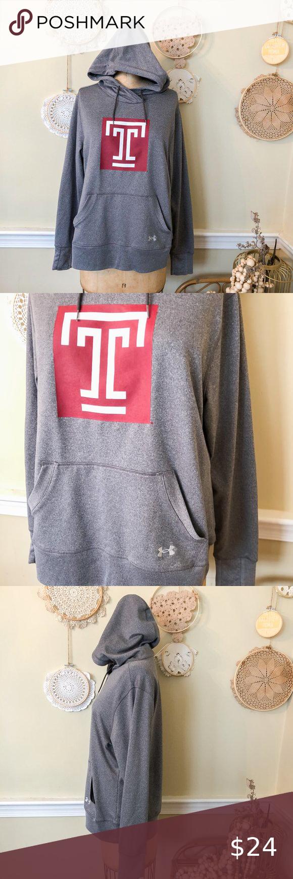 Under Armour Temple Grey Hoodie Sweatshirt M Grey Sweatshirt Hoodie Grey Hoodie Sweatshirts Hoodie [ 1740 x 580 Pixel ]