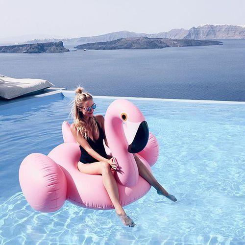 Imagem de summer, girl, and pool