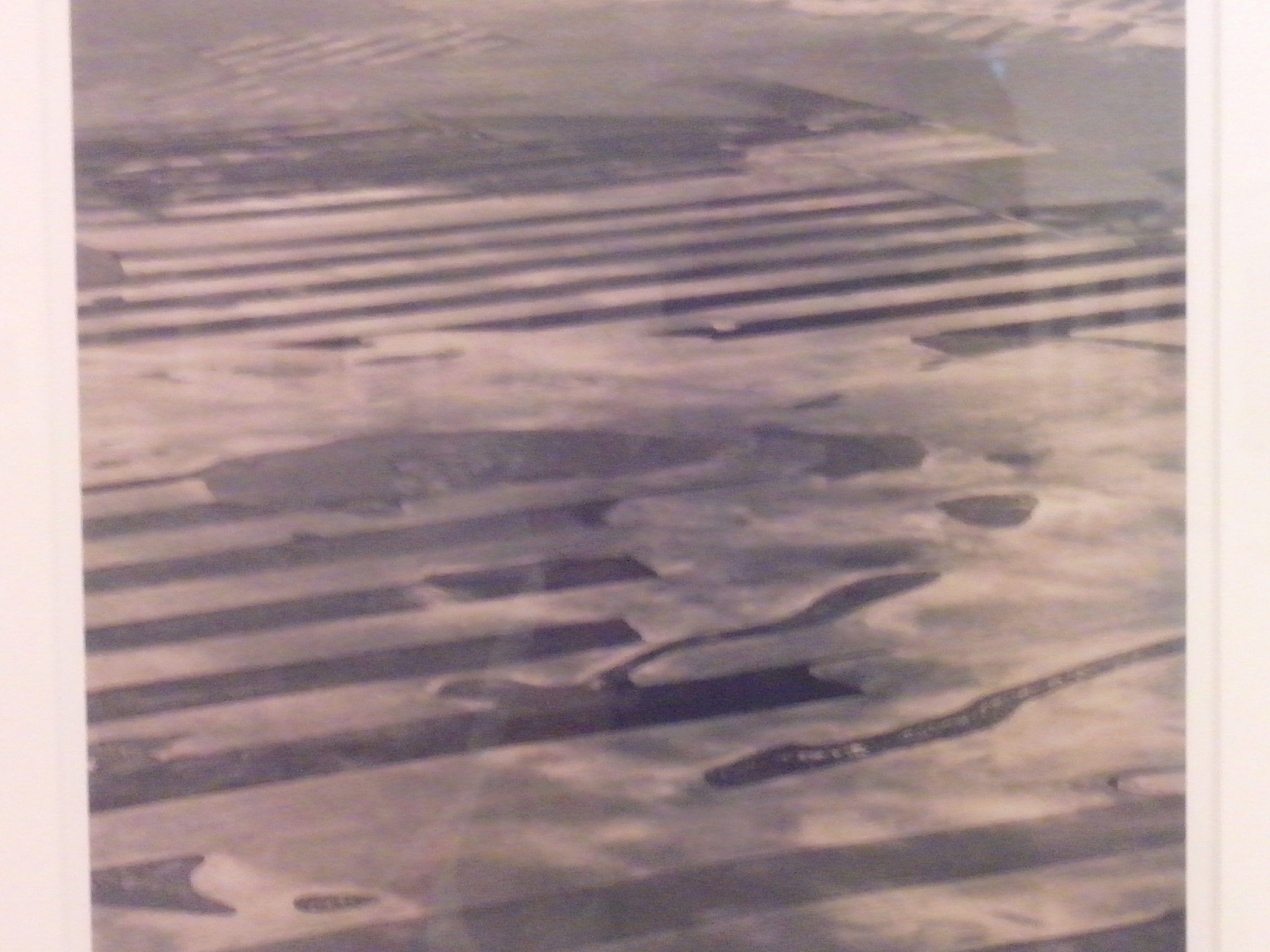 Cultivo de trigo de secano en la base de misiles balistico intercontinentales de chayenne, pradera nacional pawinee (colorado) 19991 Gelatina de plata