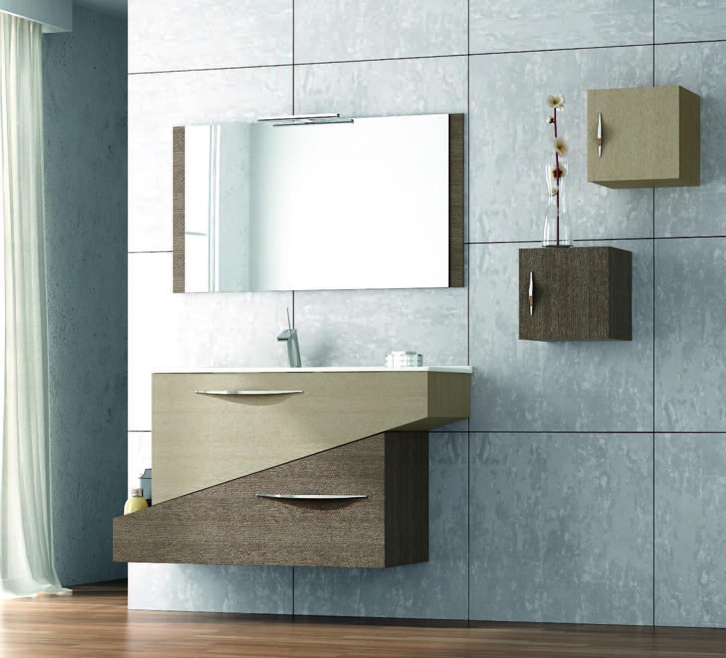 Muebles de ba o serie geometric muebles de ba o de dise o for Accesorios bano diseno italiano