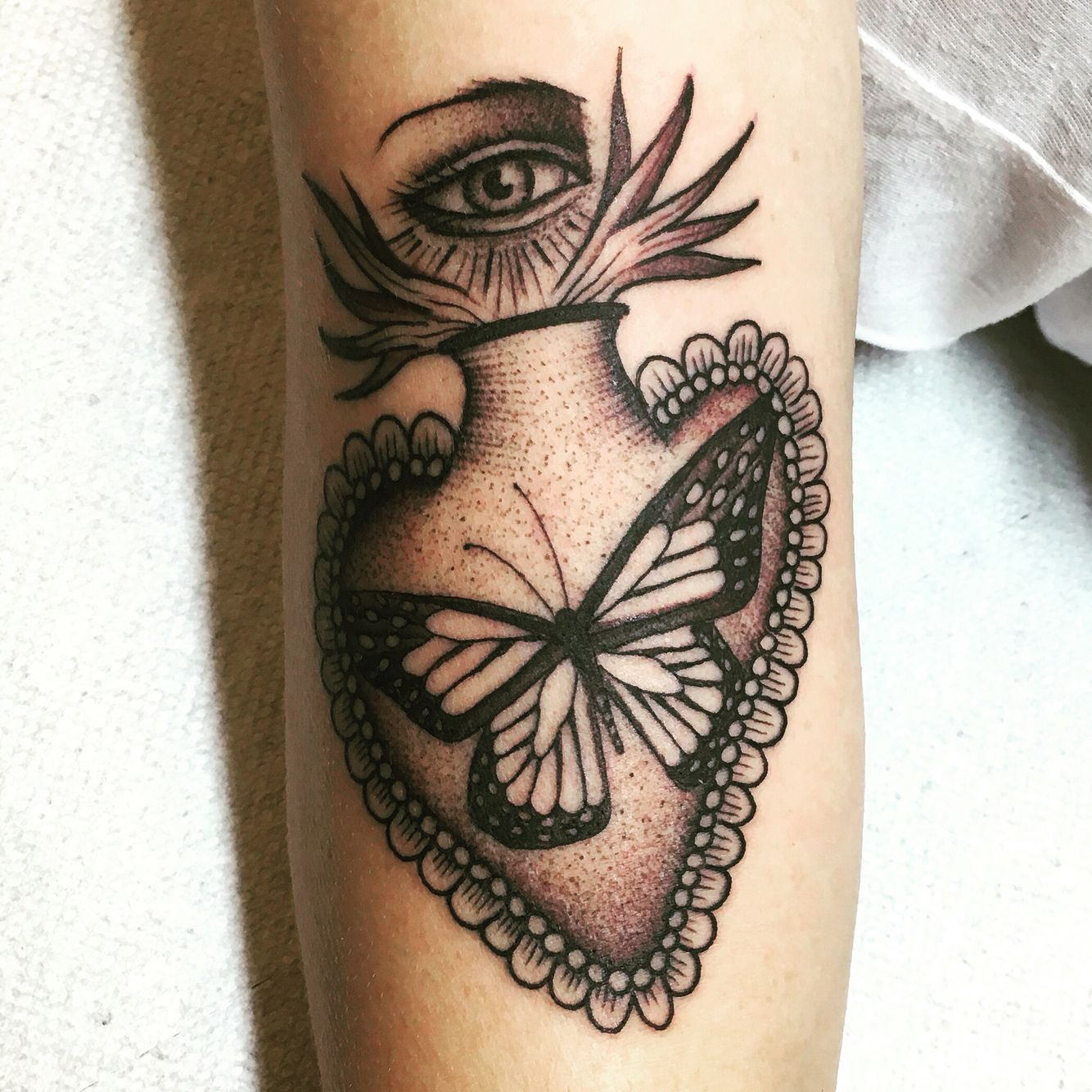 My Brand New Tattoo By Justin Olivier At Downtown Tattoo In