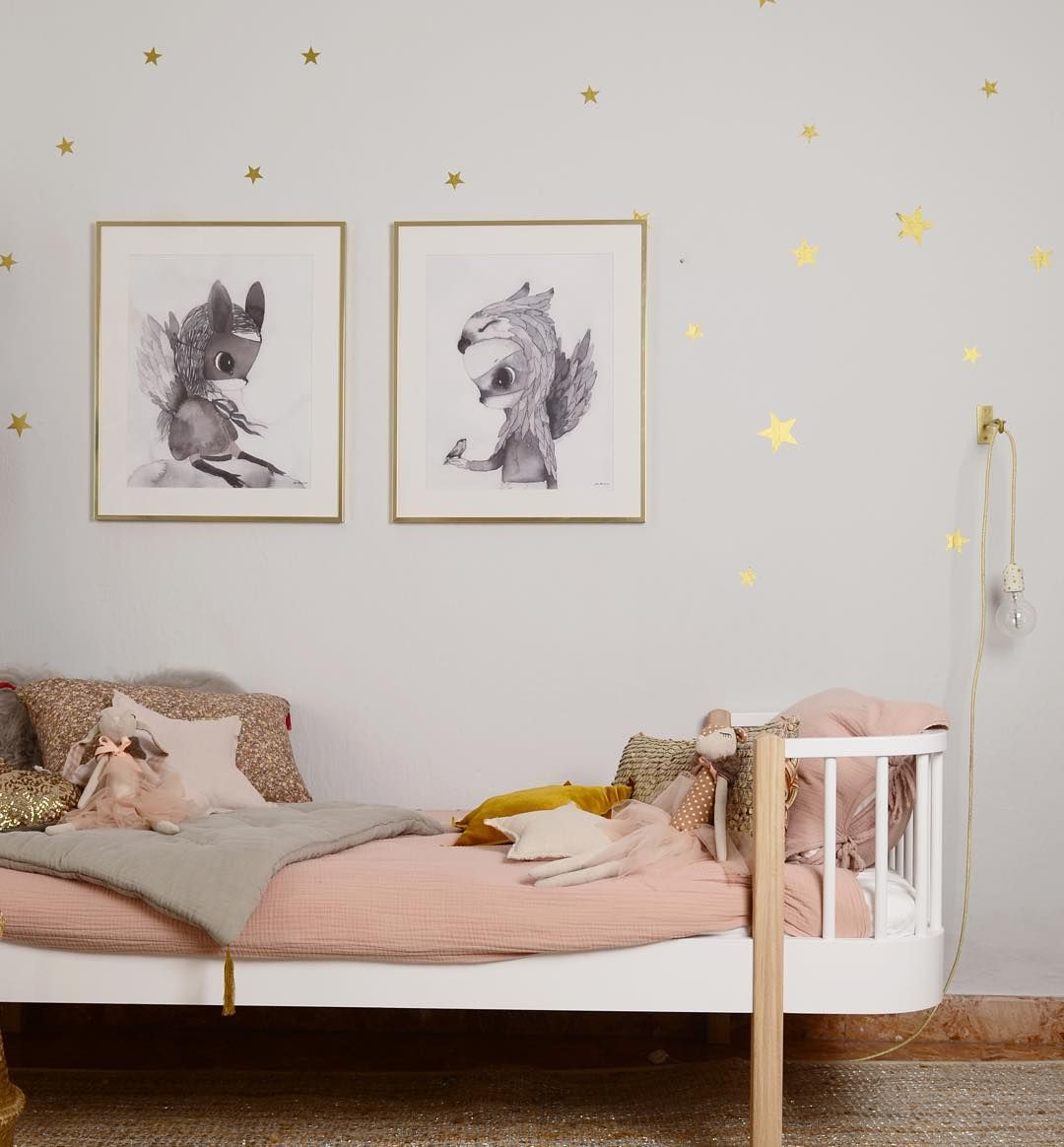 Best Pretty Colours And A Starry Wall For A Little Girls Room 400 x 300