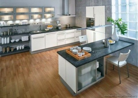 Beautiful white kitchen by alno ag