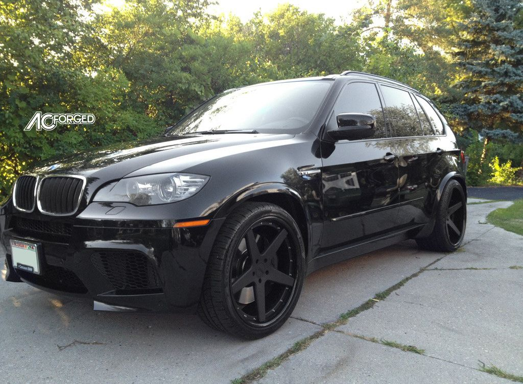 2008 Bmw X5 With Rennen Black Concave Wheels 2012 Bmw X5 M On