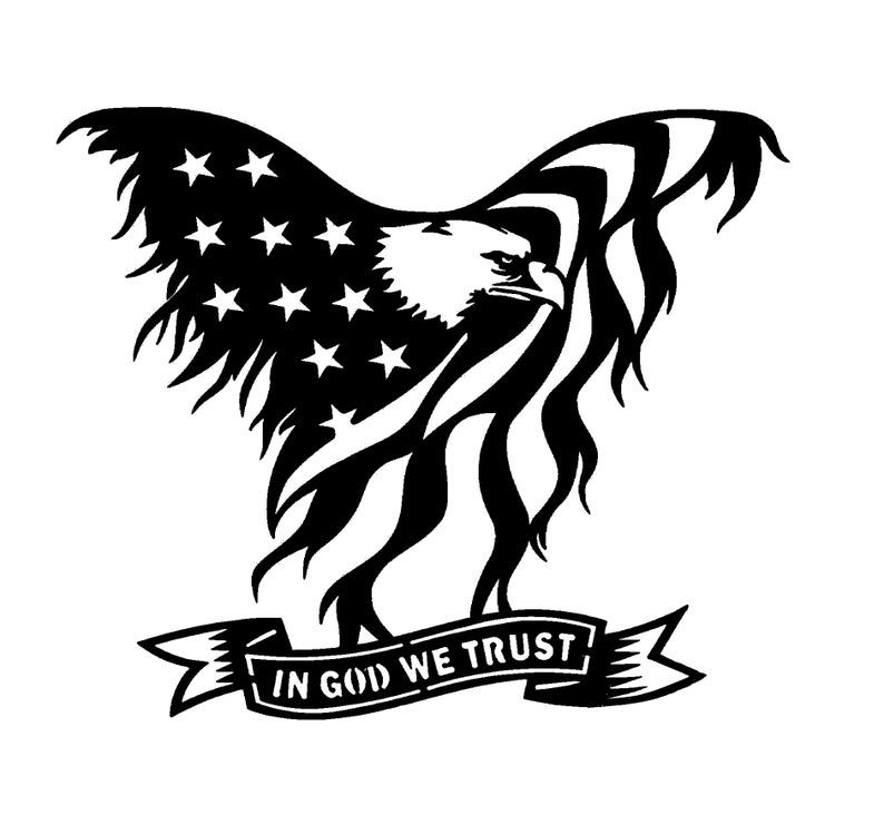 Download american eagle SVG in 2020 | American flag tattoo, In god ...