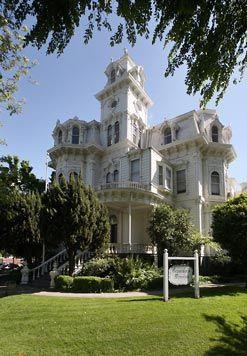California's Governor's Mansion ~ Sacramento, California
