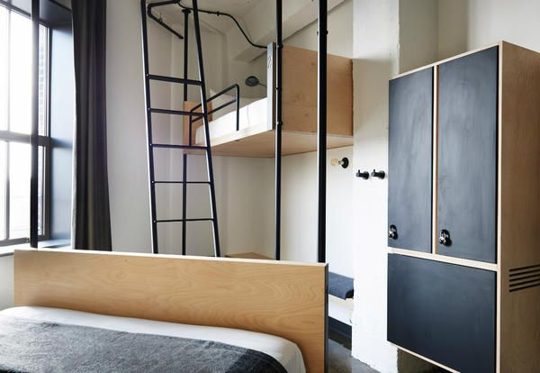 stile industrial per lhotel ostello the hollander nel cuore di chicago elle