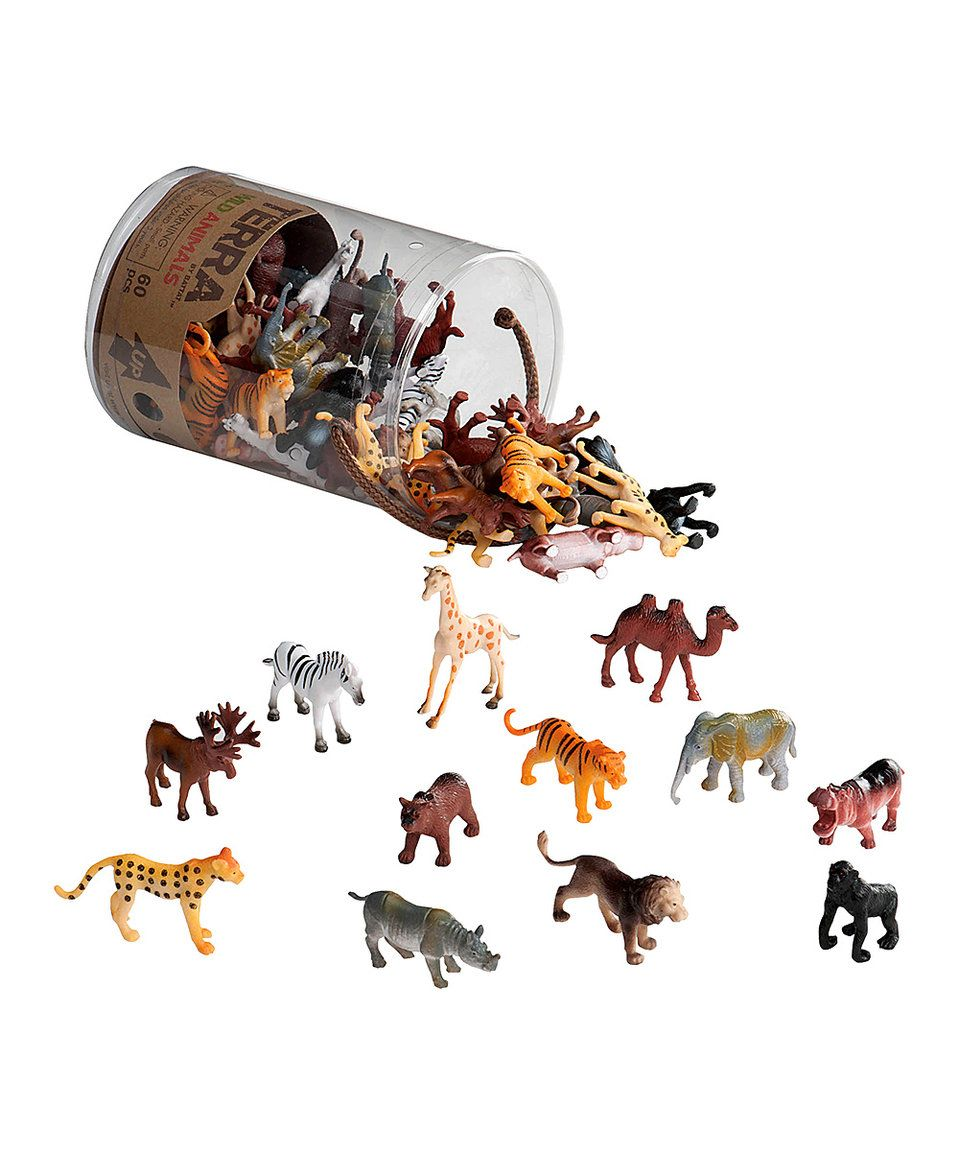 Take a look at this Terra Wild Animals in Tube Set today