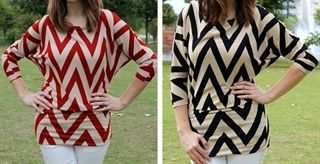 Our gorgeous Chevron-Knit Top is on Jane today for a steal!