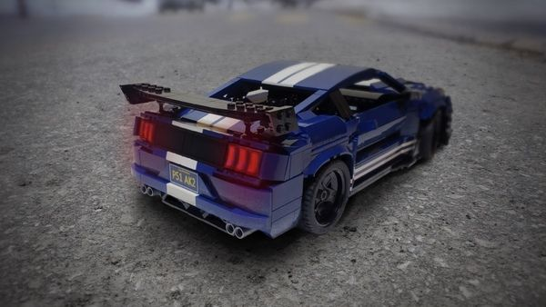 Fan-built Lego 2020 Ford Mustang Shelby GT500 captures the ...