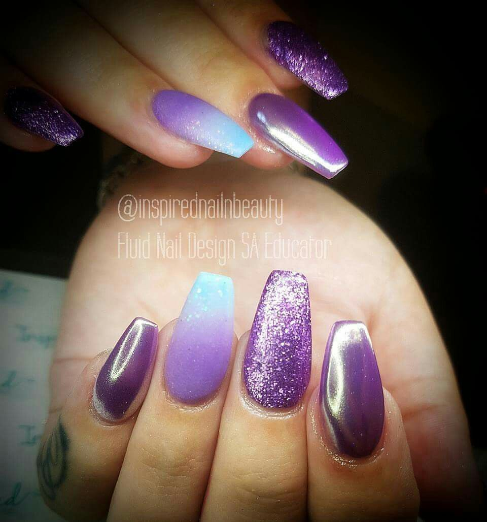 Nail perfection. By Inspired Nails & Beauty. So happy with how these ...