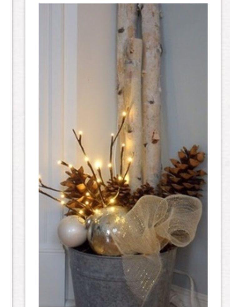 woodland christmas decorating ideas | Woodland Christmas