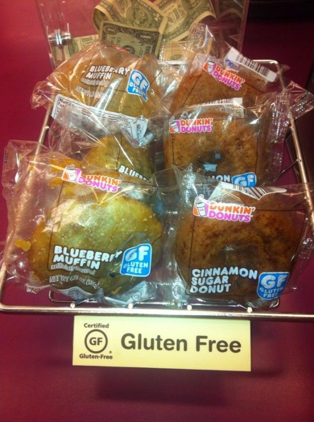 Dunkin' Donuts Is Going Gluten-Free!!!! items will be ...