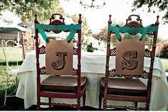 Sedie matrimonio ~ Idee creative per decorare le sedie del tuo matrimonio