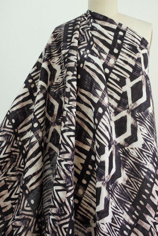 Ethnographica Linen Woven