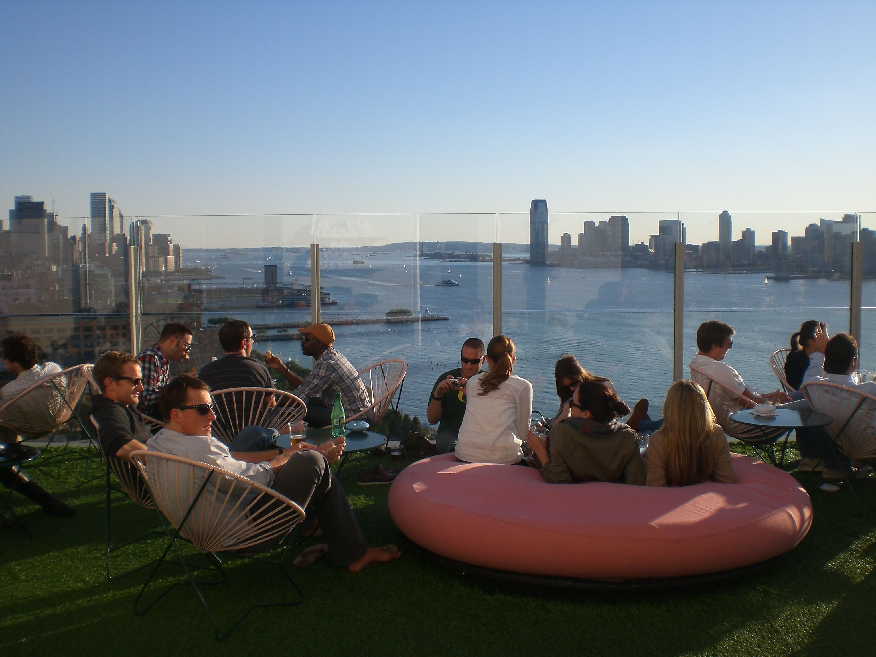 The Le Bain Nyc Restaurant New York Rooftop New York Party