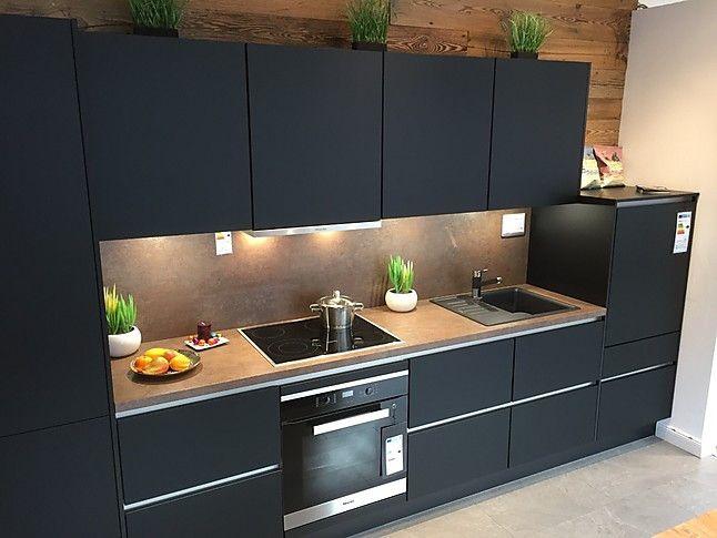 küche schwarz matt GoogleSuche Küche schwarz, Kuchen