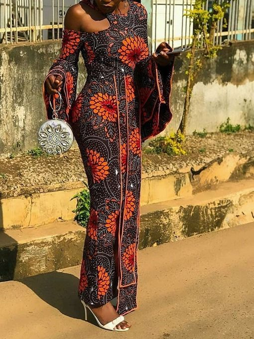 Ericdress African Fashion Expansion Floor-Length S