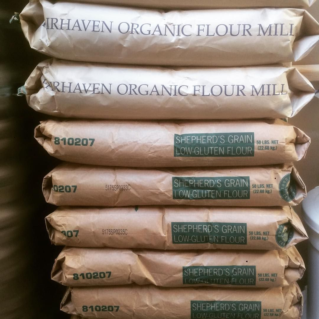 Seawolfbakers On Instagram Fairhaven Mill S Organic Barley Flour And Ap From Shepherd S Grain A No Till Collective Barley Flour Low Gluten Flour Flour Mill