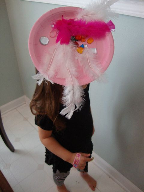 7/9/12 - Paper Plate Fascinators (a fun craft for girls! D ) & 7/9/12 - Paper Plate Fascinators (a fun craft for girls! :D ) | Kids ...