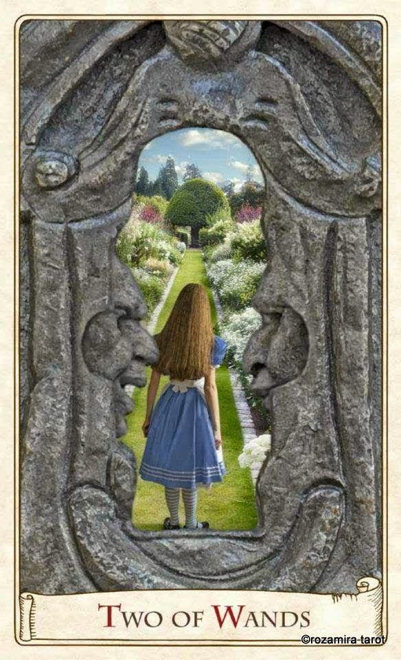 Энциклопедия карт Таро и: Альбом Alice Tarot — Таро Алисы