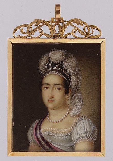 Luis de la Cruz y Rios | Princess María Francisca de Asis de Borbón and Her Son Infante Carlos Luis María Fernando de Borbón | The Met