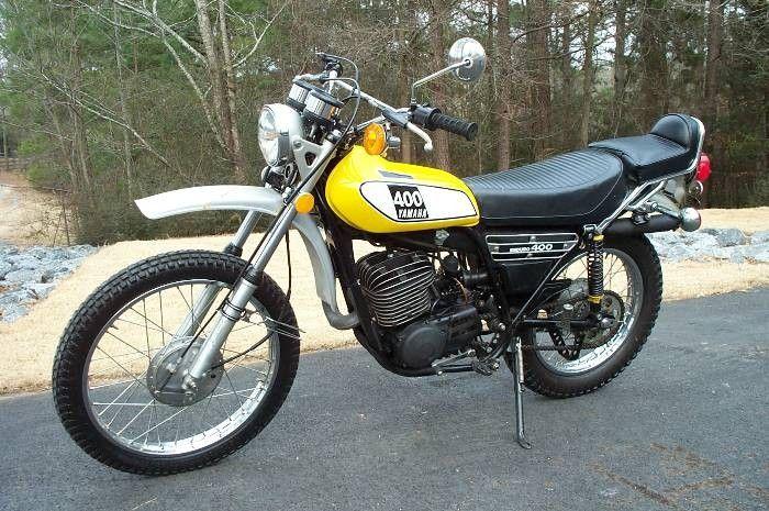1975 Yamaha Dt 400 Enduro Yamaha Bikes Youth Dirt Bikes Yamaha Motorcycles