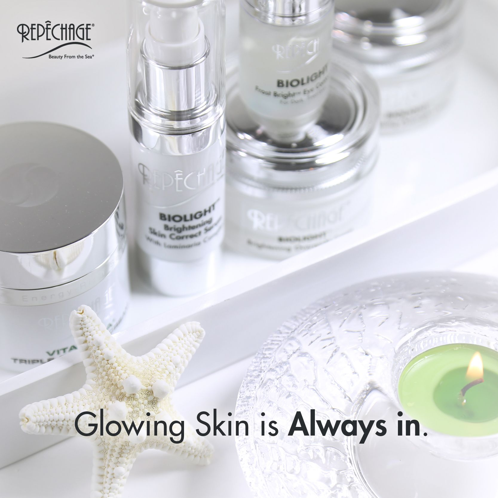 Glowing Skin Is Always In Skincare Facial Esthetician Repechage Professional Skin Care Products Uneven Skin Tone Esthetician Programs