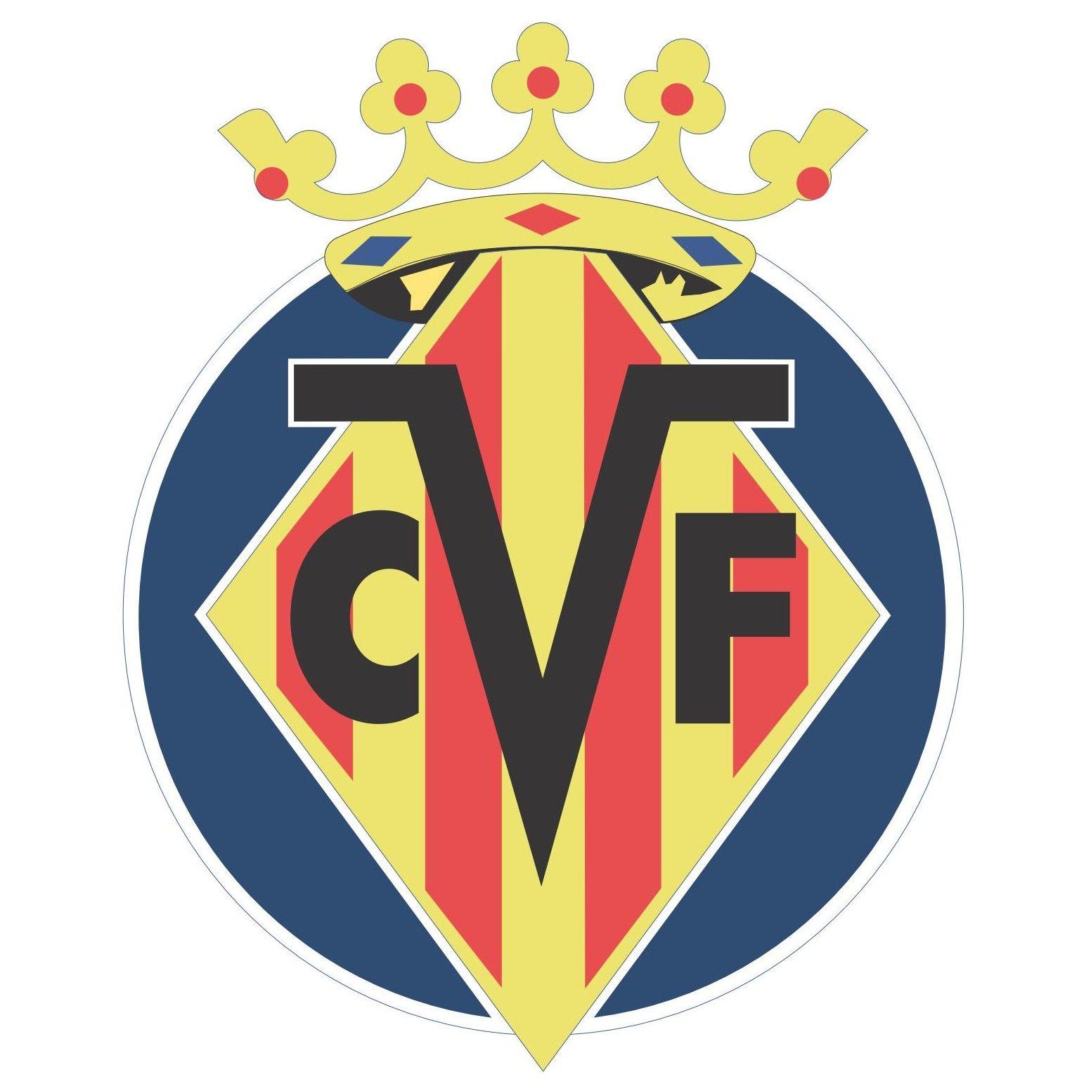 Villarreal cf logo football soccer logos pinterest logos sports logos and football soccer - Logo club foot espagnol ...